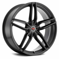 Revolution Racing® RR14 Wheels Rims 20x8 5x4.5 (5x114.3) Satin Black 40 | RR14-20851143+40SB