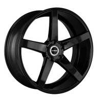 Strada® Perfetto S35 Wheels Rims 18x8 5x4.5 (5x114.3) Stealth Black 40 | S35851440SB