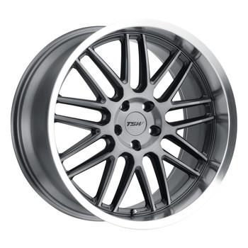 TSW Avalon Wheel 19x8.5 5x4.5 (5x114.3) Gunmetal 40MM