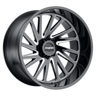 Tuff T2A Right Wheel 26x14 8x170 Black Milled -72 MM - IN CART DISCOUNT!