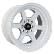 MST Wheels® MT01 Time Attack Wheels Rims 15x8 4x100 4x4.5 (4x114.3) Glossy White 0 | 01T-5816-0-WHT