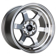 MST Wheels® MT01 Time Attack Wheels Rims 15x8 4x100 4x4.5 (4x114.3) Machined 0 | 01T-5816-0-MAC