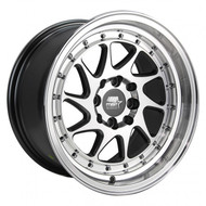 MST Wheels® MT28 Wheels Rims 15x8 4x100 4x4.5 (4x114.3) Gunmetal w/ Machined 20 | 28-5816-20-GNMF