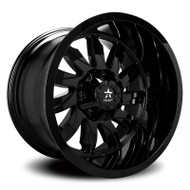 RBP® Silencer 74R Wheels Rims 22x12 5x127 (5x5) 5x5.5 (5x139.7) Gloss Black -44  | 74R-2212-58-44FB