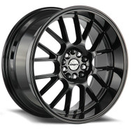 Shift® Crank H28 Wheels Rims 18x8.5 5x100 5x4.5 (5x114.3) Gloss Black 30 | H28850030GB