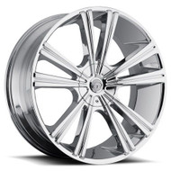 VCT® V71 Wheels Rims 18x8 4x100 4x4.5 (4x114.3) Chrome 40 | V71-188841001143+40