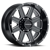 Raceline® 940M Hostage Wheels Rims 20x12 8x170 Black Milled -44  | 940M-21281-44