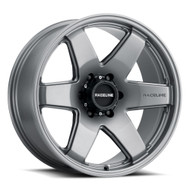 Raceline® 942GS Addict Wheels Rims 18x8 6x132 Greystone 35 | 942GS-88032+35