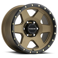 Raceline® 946BZ Boost Wheels Rims 18x8 5x110 Bronze 35 | 946BZ-88021+35