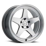 Kansei KNP Wheel 18x9.5 5x100 Hypersilver Polished 22MM - IN CART DISCOUNT!!