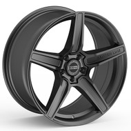 Center Line® 672SC Vector Wheels Rims 20x9.5 5x4.5 (5x114.3) Satin Charcoal 33 | 672SC-2096533