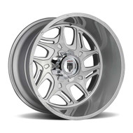 American Truxx® Sweep AT-1900 Wheels Rims 24x14 8x6.5 (8x165.1) Brushed Texture -76  | AT1900-241491BT