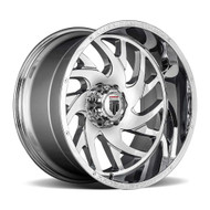 American Truxx® Xclusive AT-1907 Wheels Rims 26x14 8x6.5 (8x165.1) Chrome -76  | AT1907-261491C