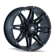 "Mayhem Rampage Wheel 17x9 5x4.5"" ( 5x114.3 ) & 5x127 -12mm Matte Black 