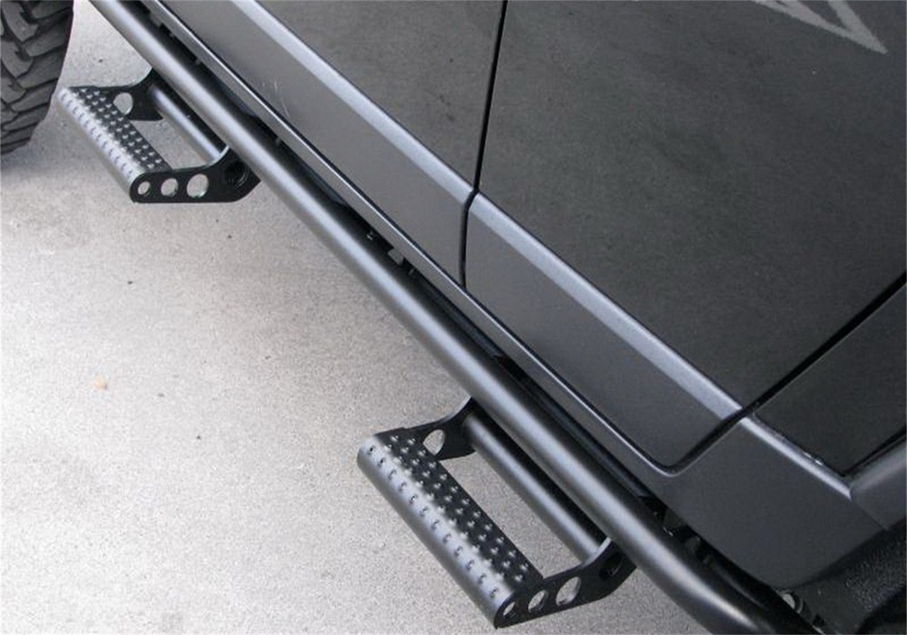 N-Fab N164RKRCCS4 RKR Cab Length Step System Black For Nissan Titan XD - IN  CART DISCOUNT!