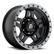 "FUEL ANZA D557 WHEELS 16X8 6X5.5"" ( 6X139.7 ) 1MM BLACK ANTHRACITE 