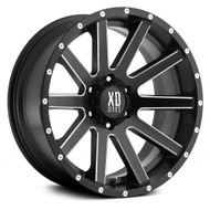 XD Heist Wheels XD818 16X8 6X114.30 Black 10 | XD81868064910