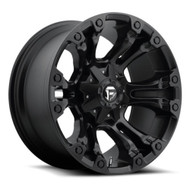 "FUEL VAPOR WHEELS D560 20x10 5X4.5"" & 5X127 BLACK -18 