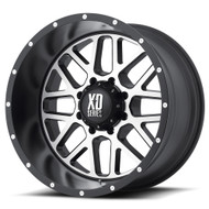 "XD Grenade XD820 Wheels 20X12 8X6.5"" Black Machined -44 