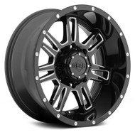 Gear Alloy Challenger Wheels 18x9 8x180 +18 Black | 737BM-8908918
