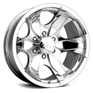 Pacer Warrior 187P 6x4.50 -19 Polished | 187P-5886