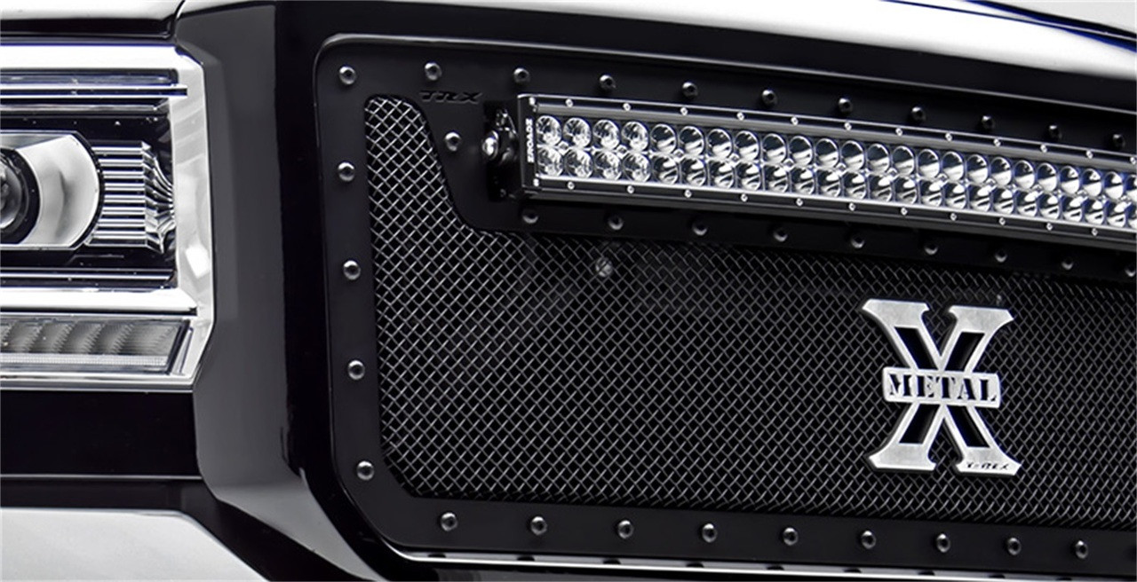 T-Rex 6715631-Br Stealth X-Metal Series Mesh Grille -1821