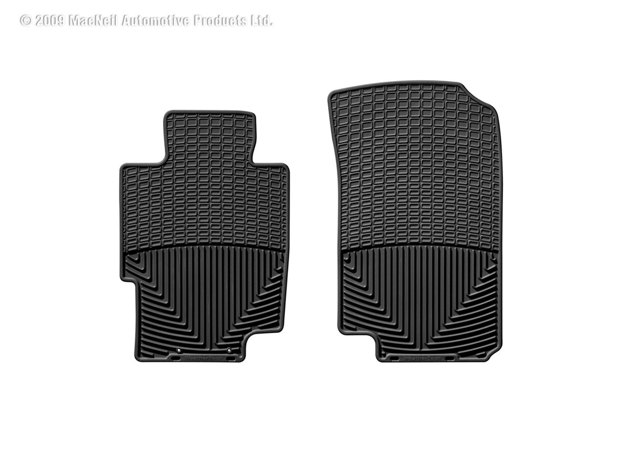 Weathertech 174 W58 All Weather Floor Mats Black Front Acura Tsx