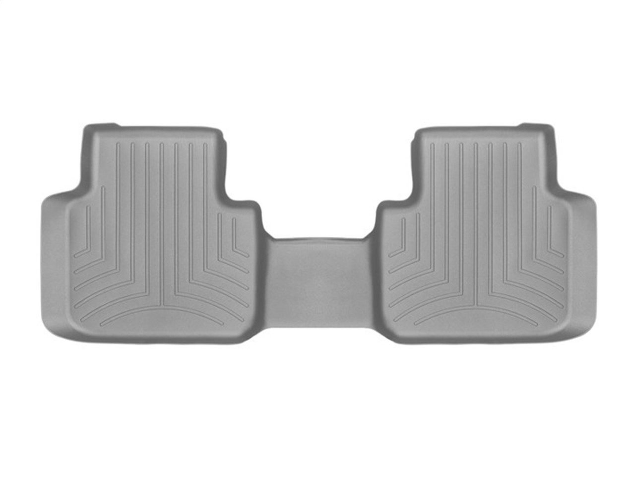 weathertech  floorliner digitalfit gray  row volkswagen atlas