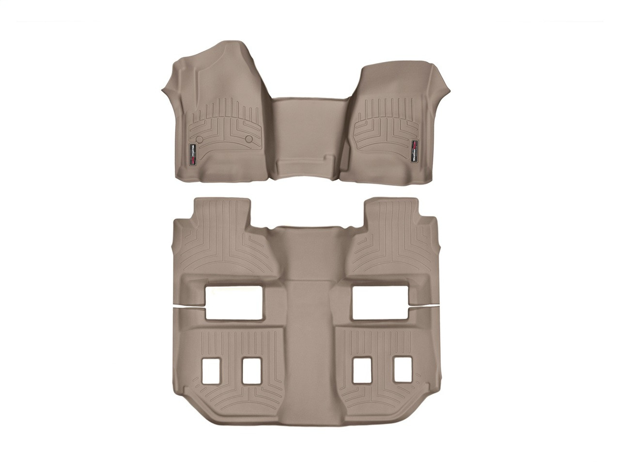 Weathertech 174 455431 456073 Floorliner Digitalfit Tan 1st