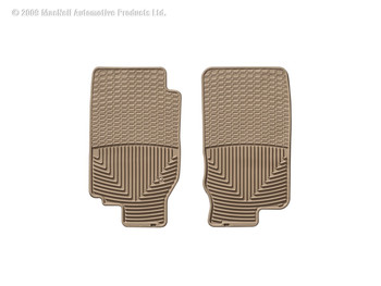 Weathertech 174 W30tn All Weather Floor Mats Tan 1st Row Ford