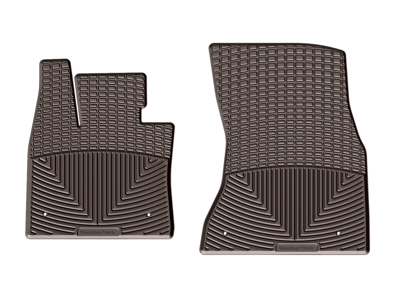 Weathertech 174 W325co All Weather Floor Mats Cocoa 1st Row