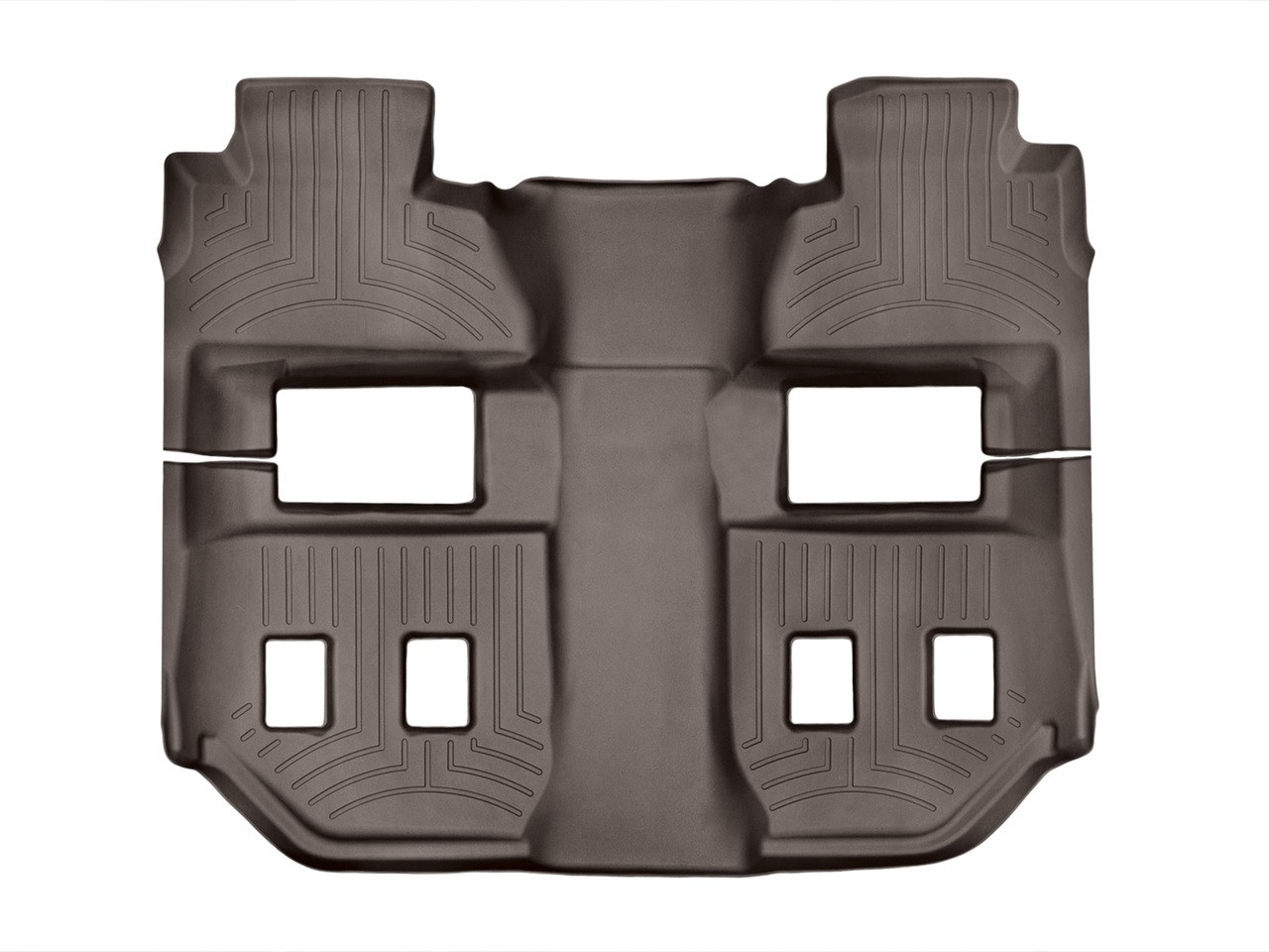 Weathertech 174 476073 Floorliner Digitalfit Cocoa 2nd Row