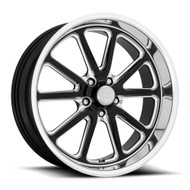 US Mags® Rambler U117 Wheels Rims 20x8 5x4.75 (5x120.65) Gloss Black Milled 01 | U11720806145