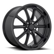 US Mags® Rambler U123 Wheels Rims 20x8.5 5x4.5 (5x114.3) Matte Gloss Black 32 | U123208565+32