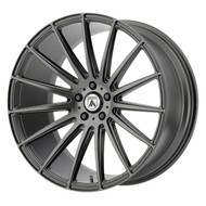 Asanti ABL-14 Wheel 19x9.5 Matte Graphite Custom Drilled BP 45mm Offset  - FREE LUGS & IN CART DISCOUNT!!