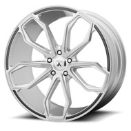 Asanti ABL-19 Wheel 20x10 Brushed Silver - Custom Bolt Pattern & Offset 25-39mm  - FREE LUGS & IN CART DISCOUNT!!