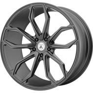 Asanti ABL-19 Wheel 22x9 Matte Graphite - Custom Bolt Pattern & Offset 15-31mm  - FREE LUGS & IN CART DISCOUNT!!