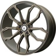 Asanti ABL-19 Wheel 20x8.5 Satin Bronze - Custom Bolt Pattern & Offset 20-37mm | ABL19-20850020BR