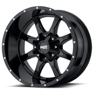 Moto Metal MO970 Wheel 24x14 Gloss Black Custom Drilled BP -76mm Offset - FREE LUGS & IN CART DISCOUNT!!