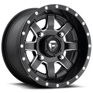 Fuel UTV® Maverick Wheels Rims 30x6 4x136 - 4x137 Black Milled 1 | D5383060A634