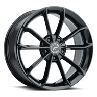 Platinum® Revelation 457 Wheels Rims 18x8 5x4.5 (5x114.3) Gloss Black 40 | 457-8866BK+40