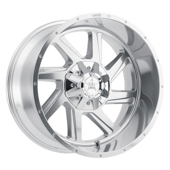 Luxxx HD Off-Road® LUX HD 14 Wheels Rims 22x12 8x170 Polished -44  | LHD1422128170-44HP