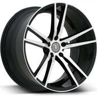 Velocity® VW20 Wheels Rims 20x8.5 5x120 Black Machined 35 | VW20-2866BM
