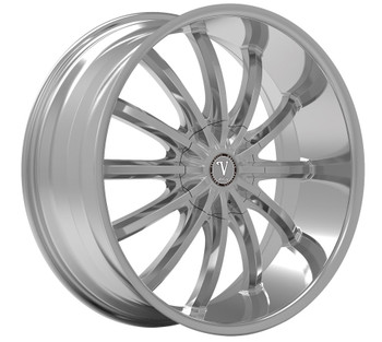 Velocity® VW24 Wheels Rims 20x8.5 5x115 Chrome 13 | VW24-2864C