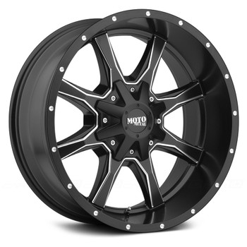 "Moto Metal ® MO970 Wheels 20X9 8X6.5"" ( 8X165.1 ) Black 18 
