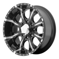 "HELO Maxx HE791 Wheels 16X8 8X6.5"" ( 8X165.1 ) Black +0 