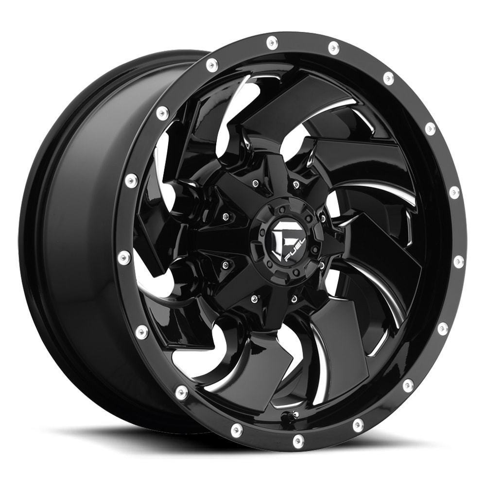 Fuel Wheels 20x9 >> Fuel Cleaver Wheel 20x9 Black Milled 6x5 5 6x135 20mm In Cart Discount