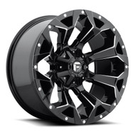 20x9  Fuel Assault Wheels Black 8x6.5  +01 | D57620908250