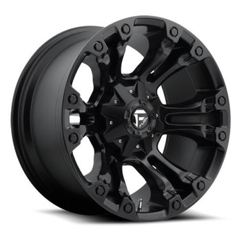 17x9  Fuel Vapor Wheels Black 8x6.5  -12 | D56017908245