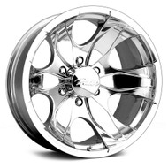 16X8 Pacer 187P Warrior Wheels Polished 6x5.50  +10 | 187P-6883